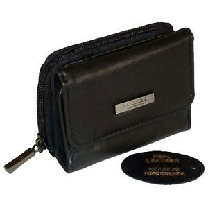 Ladies-Real-Leather-Purse-Womens-Genuine-Soft-Leather-Wallet-Small-Compact-RFID