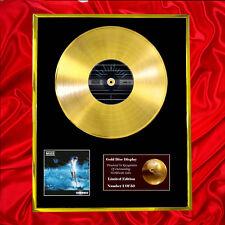 MUSE SHOWBIZ CD  GOLD DISC VINYL LP