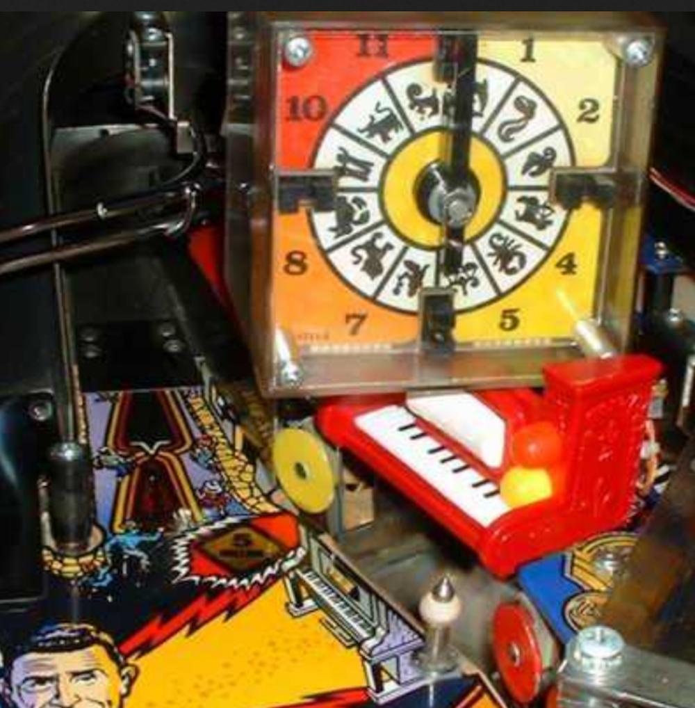 KIT PIANO pour  flipper TWIlumière ZONE Bally pinball  livraison gratuite et rapide disponible