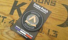 SNAKE PATCH PVC - BREVET insigne FORMATEUR SECOURISME - Terre Armée Ecusson PVC