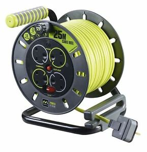 Masterplug-OMU25134SL-PX-25m-4-Socket-Electrical-Open-Cable-Reel-Thermal-Cutout