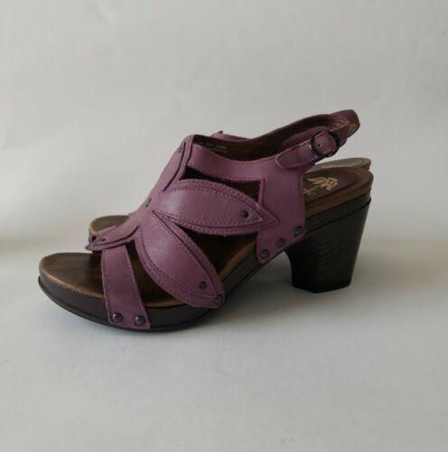 Dansko Women Shoes Nina Size 7.5M EUR 38 Purple Sl