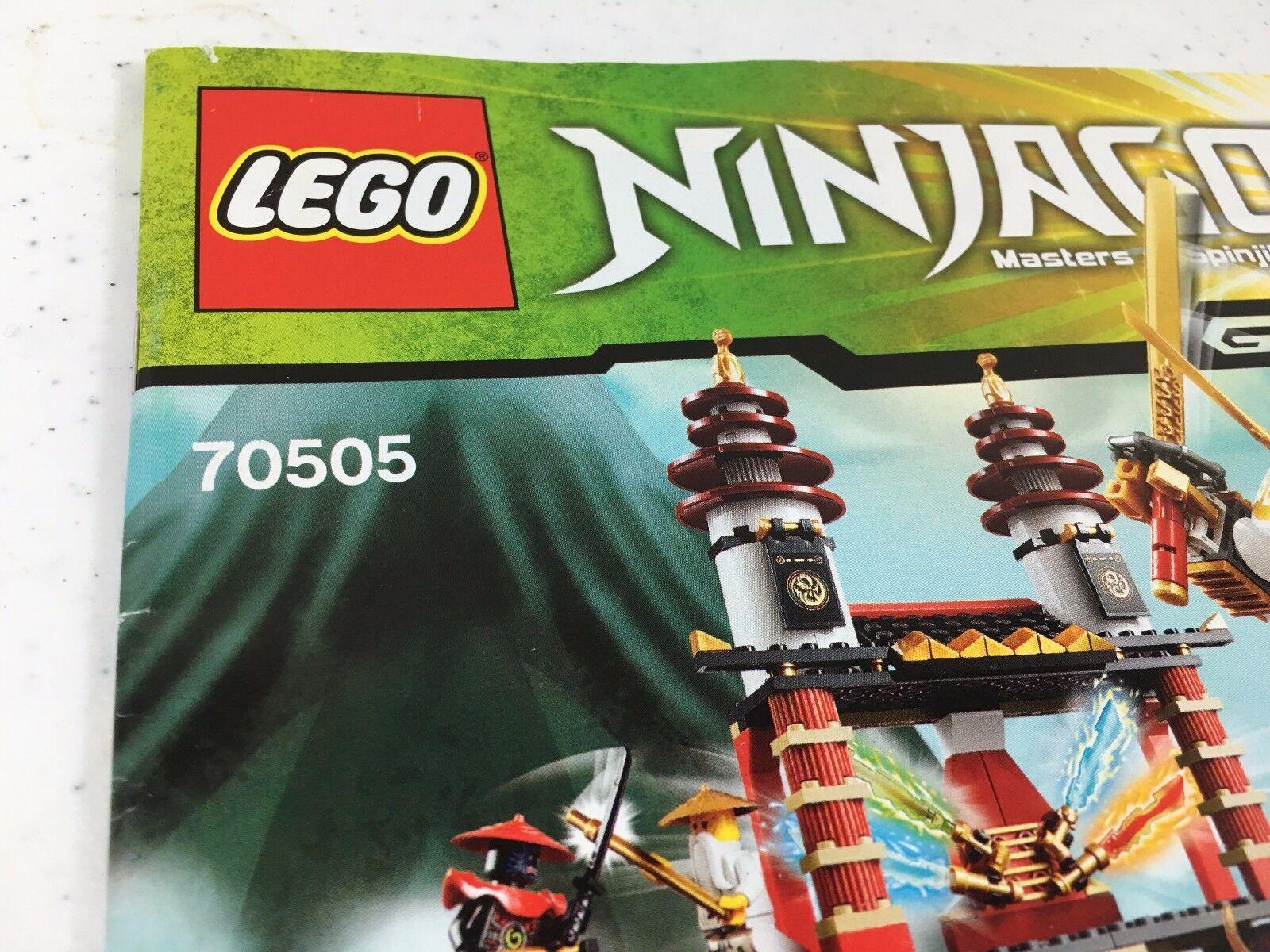 Lego Ninjago 70505 Instruction Manual Book 1 One Only