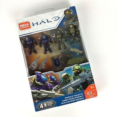 Mega Construx Halo Spartan-IV Team Battle Figures Set GCM37 NEW! SEALED!!