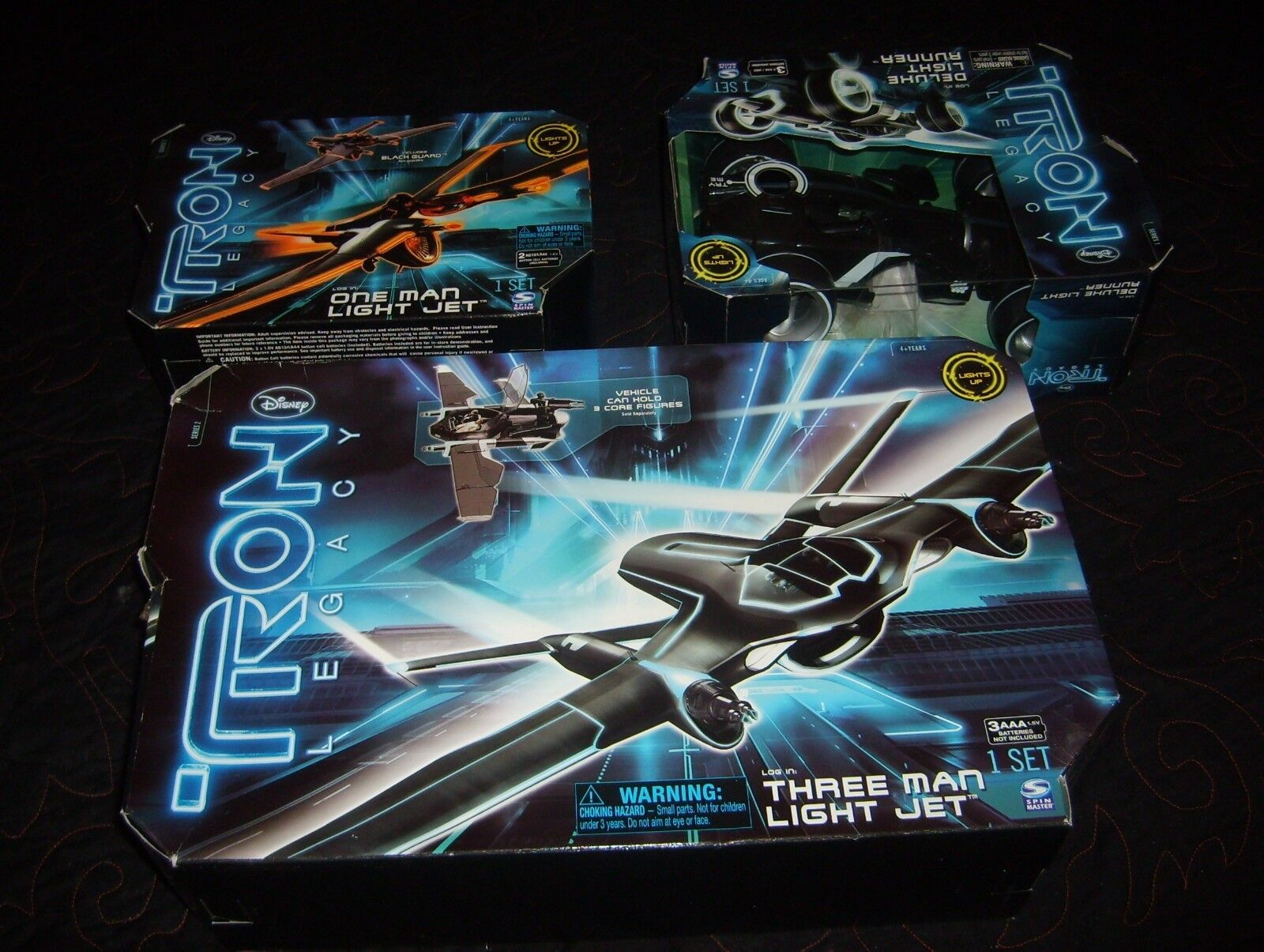 Tron Legacy (3)Vehicals  Three