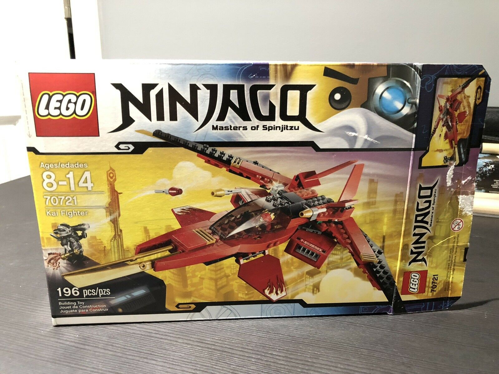Lego Ninjago Kai Fighter 70721 For Sale Online Ebay