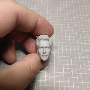 """1//12 Scale Mysterio Jake Gyllenhaal Head Sculpt Unpainted fit 6/"""" Figure ML Body"""
