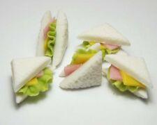 4Pcs Bread dollhouse miniature food breakfast snack dess/_sh
