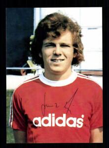 Franz-Michelberger-Autogrammkarte-Bayern-Muenchen-Spieler-70er-Jahre-Original-Sig