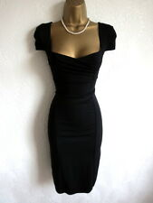 Brand new Jane Norman black bodycon pencil dress size 10 8