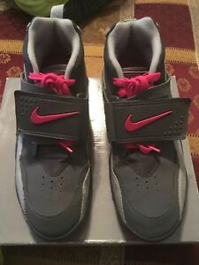916c530459 ♡♡Nike - Air Diamond Turf 2 - Gray/Pink Sneakers Shoes - Size 7 ...