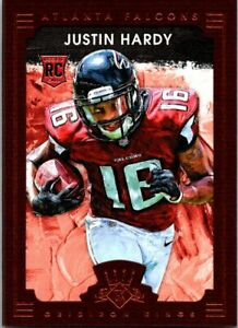 JUSTIN-HARDY-2015-GRIDIRON-KINGS-FRAMED-BROWN-RC-124-25-OFF