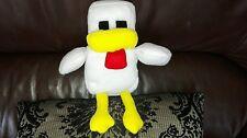 Soft Minecraft Chicken Plush 11 inch
