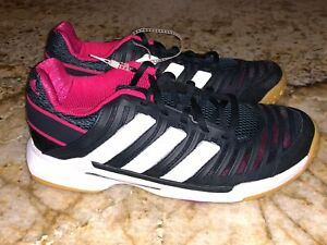 Details about ADIDAS Court Stabil 10.1 Navy Blue White Indoor Court Shoes NEW Womens 7.5