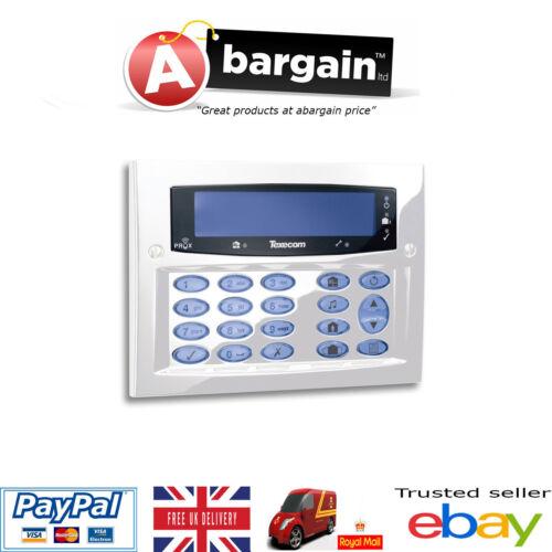 Texecom Premier Elite FMK Diamond White Flush Alarm Keypad Grade 3 DBD-0170