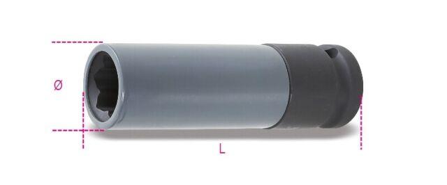 Beta Tools 720MRC 17mm Ruota Impact Presa Polimerico Inserti Mercedes 007200631