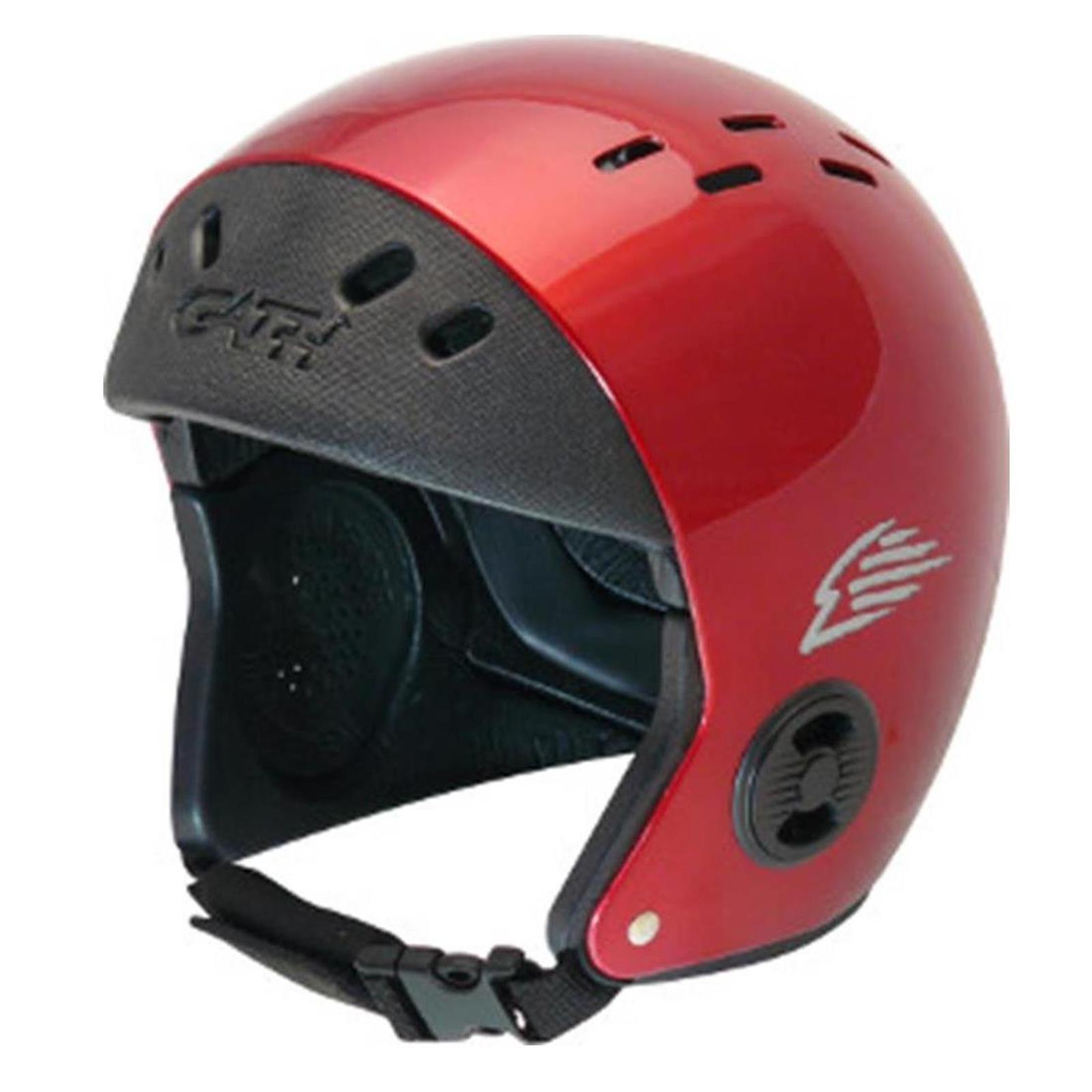 Gath deportes acuáticos casco casco casco estándar s safety rojo gloss, rojo windsurf, kite, Wake 5e3cd7