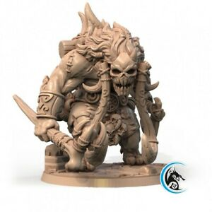TROLL-WARRIOR-SCALE-32mm-MORDHEIM-ZOMBICIDE-DnD-ROL-WARHAMMER-SKIRMISH