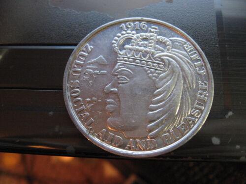 zulu african aardvark 1992 aluminum mardi gras doubloon coin orleans