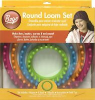 Boye Round Loom Set , New, Free Shipping