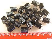 Lelon Electrolytic Cap 330uf 25V 20% 105'C 10 x 12.5mm 25 Pieces OL0244