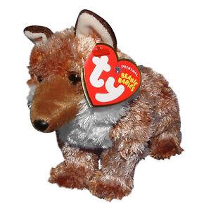 Ty Beanie Baby Pungo - MWMT (Wolf Red Internet Exclusive)