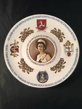 La reina Isabel de mil años de gobierno parlamentario Isla de Man