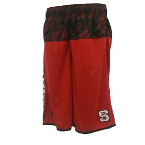 NC State Wolfpack Official Adidas NCAA Kids Youth Size Athletic Shorts New Tags