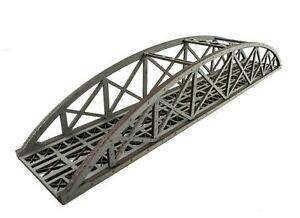 Wws Single Track Hi-detail Grey Mdf Bowstring Bridge 450mm – Oo/ho Model Railway 2019 Nouveau Style De Mode En Ligne