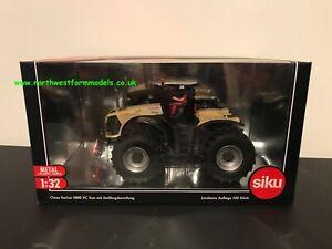 Siku Claas Xerion 5000 Vc Trac avec double roues Cream Edition limitée