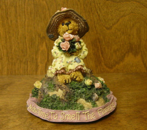 """Boyds MUSICALS #270562 MISS STOPAWHYLE...MAKING TIME  /""""Last Rose of Summer/"""""""