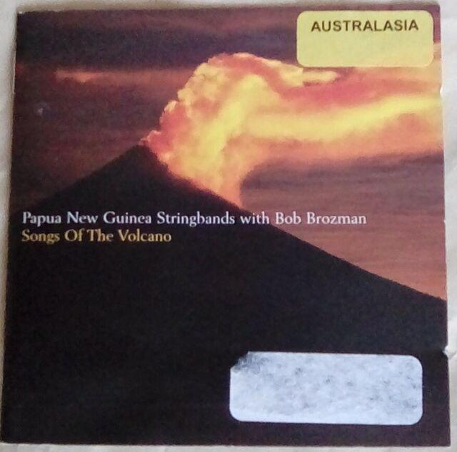 Papua New Guinea Stringbands with Bob Brozman, Songs of the Volcano CD DVD 2005