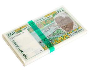 BENIN-WEST-AFRICAN-STATES-500-FRANC-2002-P-210B-UNC-BUNDLE-of-100-NOTES