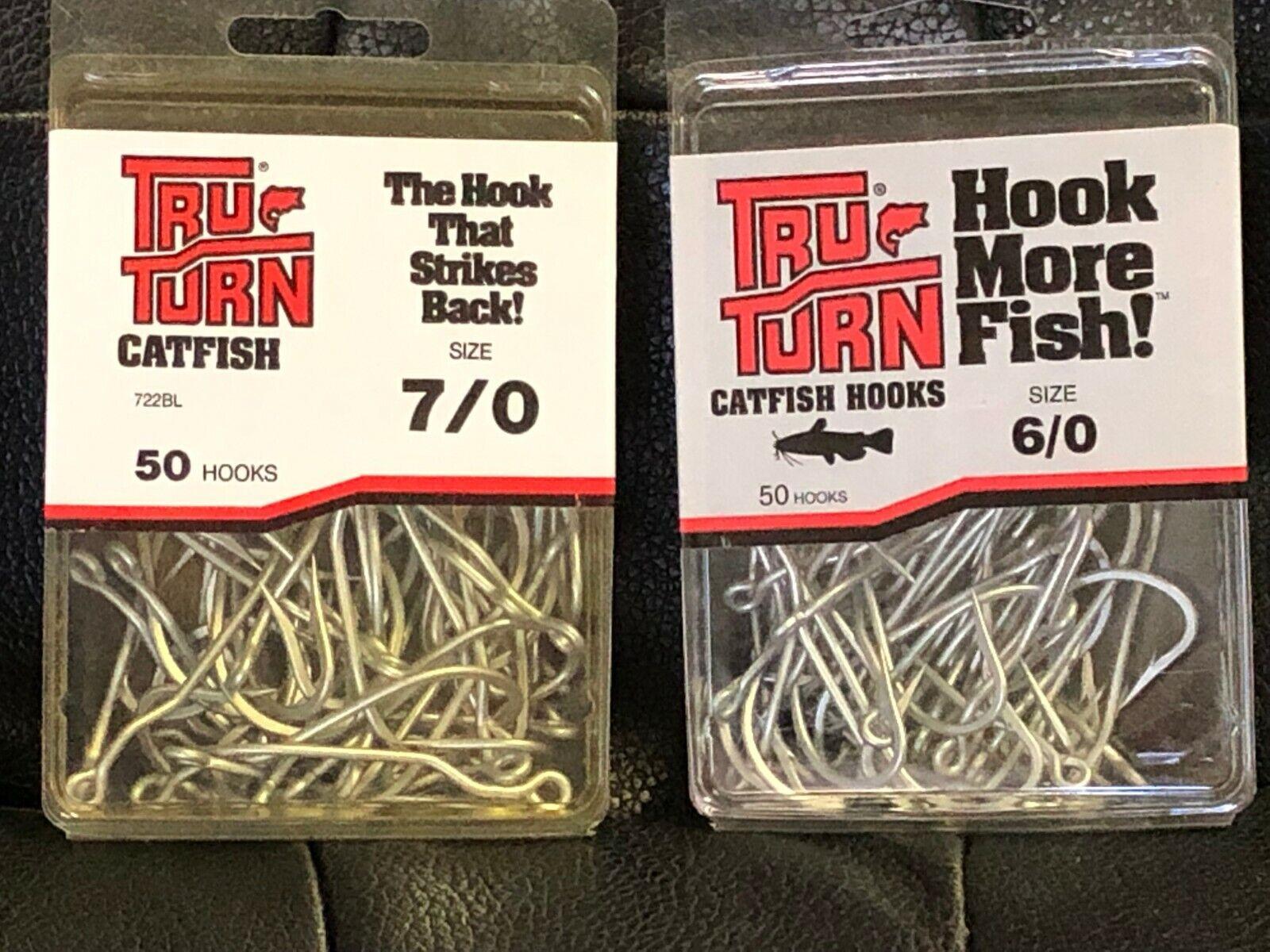 Tru-Turn 853BL-4 Blood Red Aberdeen Panfish 50 Pack Size 4 Fishing Hooks