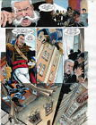 BATMAN MASTER OF THE FUTURE Pg #18 HAND COLORED PRINT GUIDE Barreto, Steve Oliff