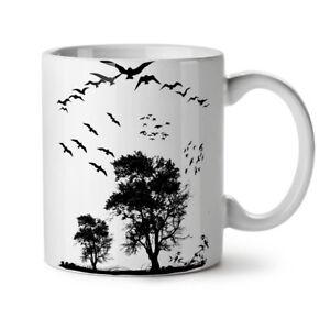 Bird Freedom Fly NEW White Tea Coffee Mug 11 oz | Wellcoda
