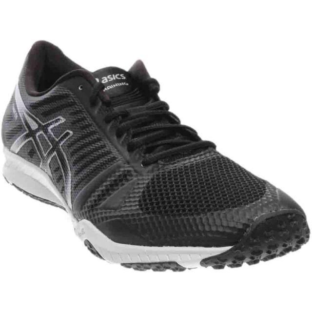 95d56f360104 ASICS Men s Fuzex TR Black   Onyx Silver Fabric Running Shoe - 11m ...