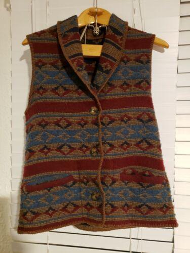 Vintage Woolrich John Rich Bros Southwestern wool… - image 1