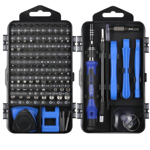 25//120In1 Magnetic Precision Screwdriver For Phone PC 101Bit Kit Set Repair Tool