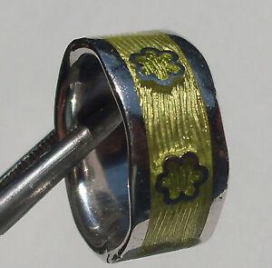 CeS-Bluetenring-Ring-Emaille-mit-Blumen-Flower-Power-Hippie-massiv-Silber