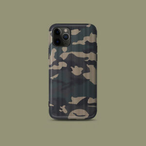 Army-Green-Camouflage-Phone-Cover-Case-For-iPhone-11-Pro-Max-XR-XS-XR-8-7-Plus