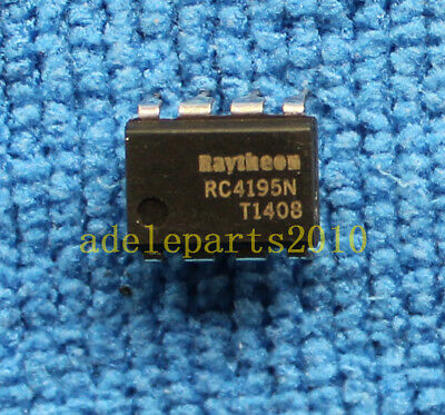 1pcs RC4195N Fixed 15V Dual Tracking Voltage Regulator DIP-8