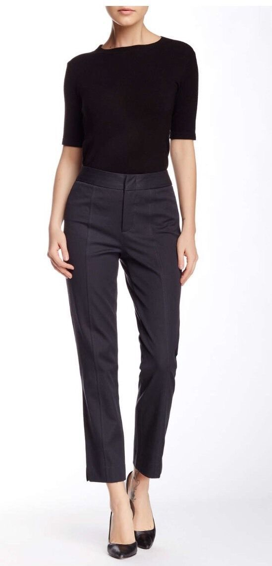 NEW NYDJ Not Your Daughters Jeans Bi Stretch ANKLE  pants trousers Eclipse 10P