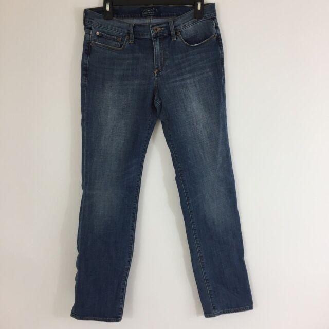 Lucky Brand Sweet Jeans Straight Leg Women's Size 8/ 29 Medium Wash Blue