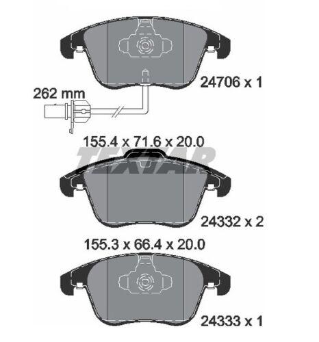 4 Bremsbelagsatz Scheibenbremse METELLI 22-0675-2 für AUDI Vorderachse