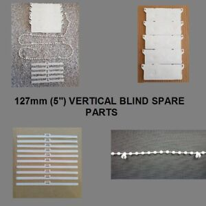 VERTICAL-BLIND-127mm-5-034-SPARE-PARTS-REPAIR-PACKS-BOTTOM-WEIGHTS-CHAIN