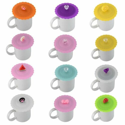 Top selling Cup Lid Cover Lace Silicone Diamond Cup Lid Thermal Insulation Cup C