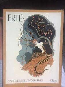 ERTE-cinq-suites-de-lithographies-1978