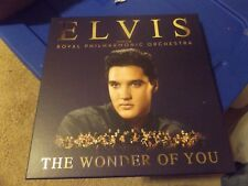 Wonder of You: Elvis Presley with the Royal Philharmonic Orchestra [Deluxe Edition] [CD+LP] by Elvis Presley/Royal Philharmonic Orchestra (CD, Dec-2016, 3 Discs, Legacy)