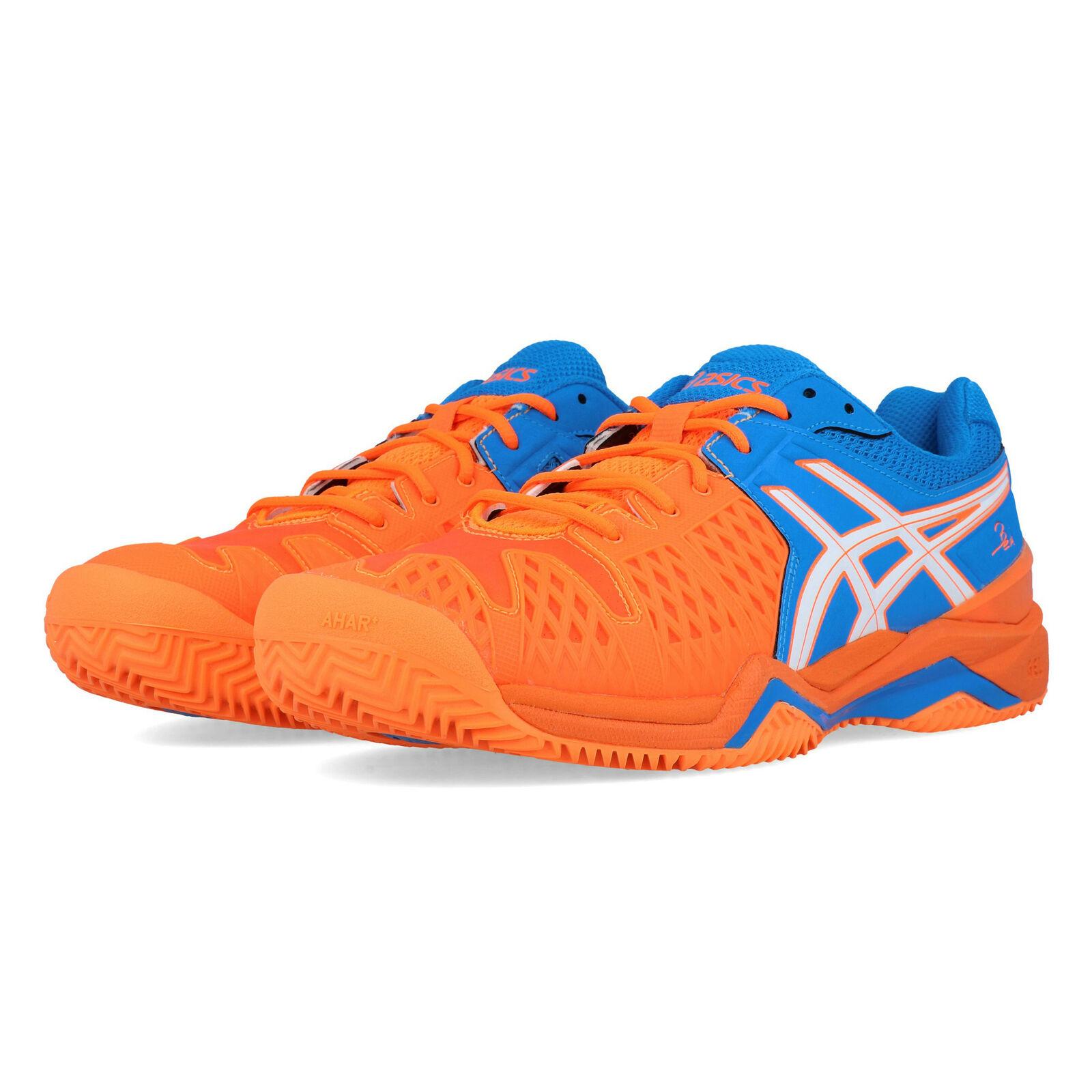 Asics mannens Gel-Bela 5 SG Tennis schoen blauw oranje Sports Breatabable